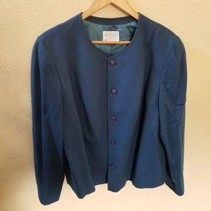 Pendleton Pure Virgin Wool Blazer Size 22W